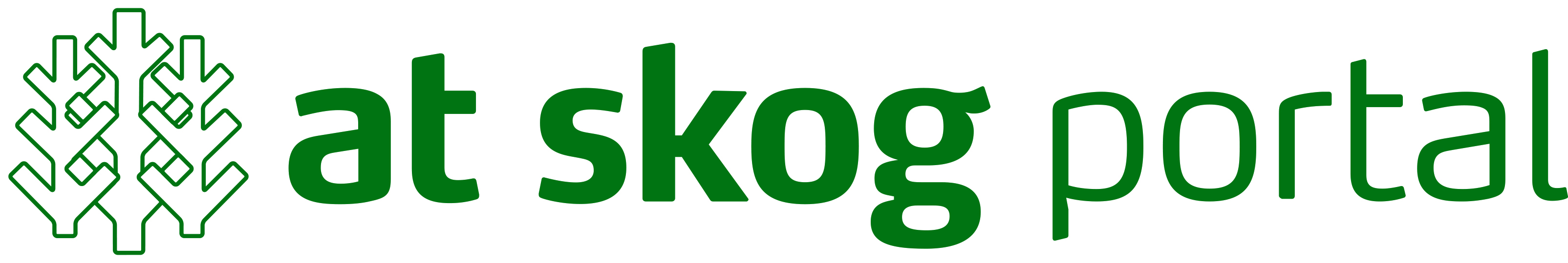 Logo AT skog portal